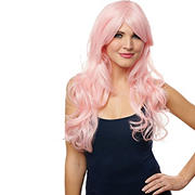 Costume Culture By Franco Pink Berry Womens Wig - One Size