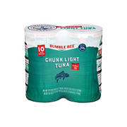 Bumble Bee Chunk Light Tuna in Oil, 10 pk./5 oz.
