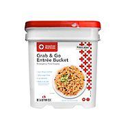 ReadyWise American Red Cross Grab & Grow Entree Bucket Emergency Food Supply
