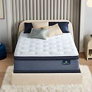 Serta Perfect Sleeper Sapphire Canyon Firm Pillow Top Queen Size Mattress