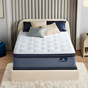 Serta Perfect Sleeper Sapphire Canyon Firm Pillow Top King Size Mattress
