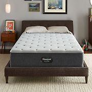 Beautyrest BRS900 Plush Full Size Mattress - Silver