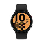 Samsung Galaxy Watch4 44mm Bluetooth Smartwatch with Black Silicone Strap