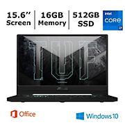ASUS TUF DASH Laptop, Intel Core i7-11370H Processor, 16GB RAM, 512GB SSD