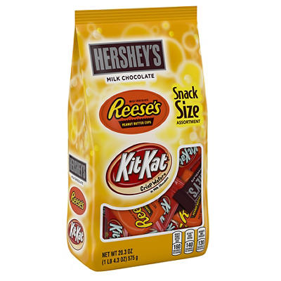 Hershey's Snack Size Assortment, 20.3 oz.
