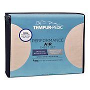 Tempur-Pedic Performance Queen Size Air Sheet Set - Sand Dollar