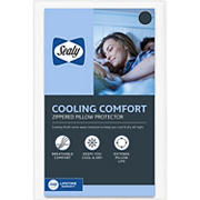 Sealy Cool Comfort T240 Thread-Count Pillow King Size Protector