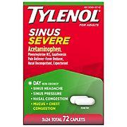 Tylenol Sinus Severe Daytime Caplets, 3 pk./24 ct.