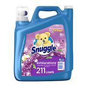 Snuggle Exhilarations Liquid Fabric Softener,  Lavender and Vanilla Orchid,  180 fl. oz.,  211 Loads