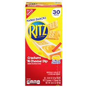 Nabisco Crackers 'N Cheese Dip, 30 pk./0.95 oz.