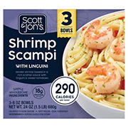 Scott & Jon's Shrimp Scampi with Linguini, 3 ct./8 oz.
