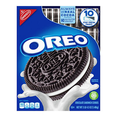 Nabisco Oreo Cookies, 10 pk./5.25 oz.