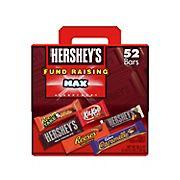 Hershey Fundraising Max Chocolate Assortment Candy Bars Bulk Fundraising Kit, 52 ct./80.5 oz.