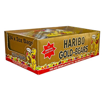 Haribo Gold-Bears, 24 pk./2 oz.