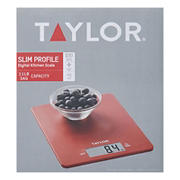Taylor Kitchen Ultra Thin Scale - Red