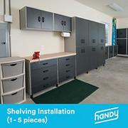 Handy Shelving Assembly and Installation Service, 1-5 pieces