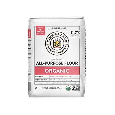 King Arthur Flour 100% Organic All-Purpose Flour, 5 lbs.