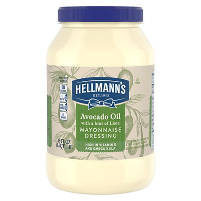 Hellmann's Avocado Oil Mayonnaise, 48 oz.