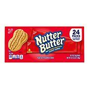 Nabisco Nutter Butter Cookies, 24 pk./1.9 oz.
