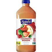 Naked Strawberry Banana Fruit Smoothie, 64 oz.