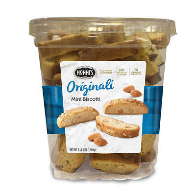 Nonni's Original Pure Mini Biscotti, 37.8 oz.