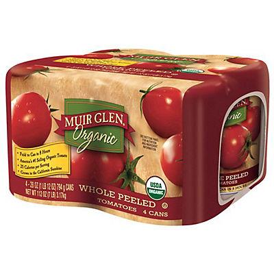 Muir Glen Organic Whole Peeled Tomatoes, 4 pk./28 oz.