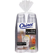 Chinet 14-Oz. Crystal Cups, 60 ct. - Clear