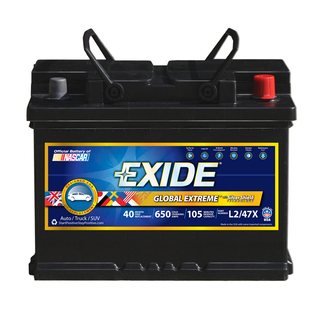 Exide Global Extreme L247x Auto Battery Bjs Wholesale Club