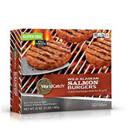 World Catch Salmon Burgers, 8 ct./4 oz.