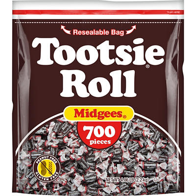 Tootsie Roll Midgees Candy, 700 ct.