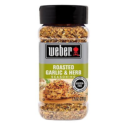 Weber Roasted Garlic & Herb Seasoning, 7.75 oz.