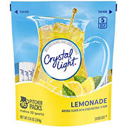Crystal Light Lemonade Sticks, 16 ct./32 qt.