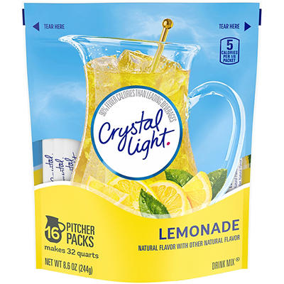 Crystal Light Lemonade Sticks, 16 ct./32 qt.