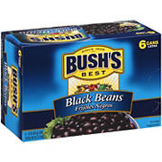 Bush's Best Black Beans, 6 pk./15 oz.