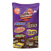 Mars Favorites Fun Size Stand-Up Bag, 135 Count