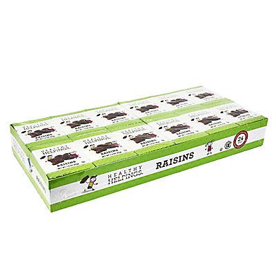 Healthy Helpings Seedless California Raisins, 24 pk./1.5 oz.