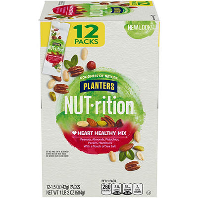 Planters Nutrition Heart Healthy Mix, 12 ct./1.5 oz.