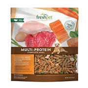 Freshpet Select Multi Protein Complete Meals for Dogs, 3 lbs.