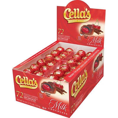Cella's Chocolate Covered Cherries, 72 ct.