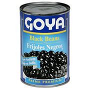 Goya Low Sodium Black Beans, 6 pk./15.5 oz.