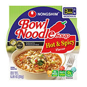 Nong Shim Hot & Spicy Bowl Noodle Soup, 12 pk./3.03 oz.