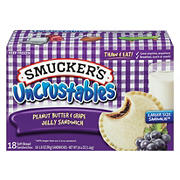 Smucker's Peanut Butter and Grape Uncrustables, 18 pk./2.8 oz.