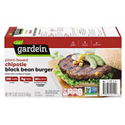 Gardein Chipotle Black Bean Burger, 12 ct.