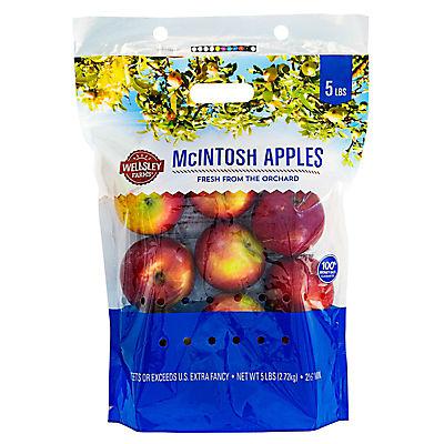 Wellsley Farms McIntosh Apples, 5 lbs.