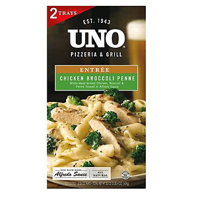 UNO Pizzeria & Grill Chicken Broccoli Penne Pasta Entrée, 2 pk./26 oz.