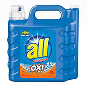 all Oxi Liquid Laundry Detergent with Stain Removers, 225 oz.