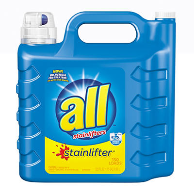 all Stainlifter Liquid Laundry, 225 oz.
