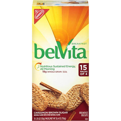 Belvita Breakfast Biscuits, 15 pk./4 ct.