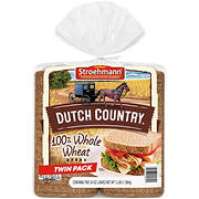 Stroehmann Dutch Country Wheat Bread, 2 pk./24 oz.