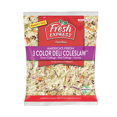 Fresh Express America's Fresh Three-Color Deli Cole Slaw, 24 oz.